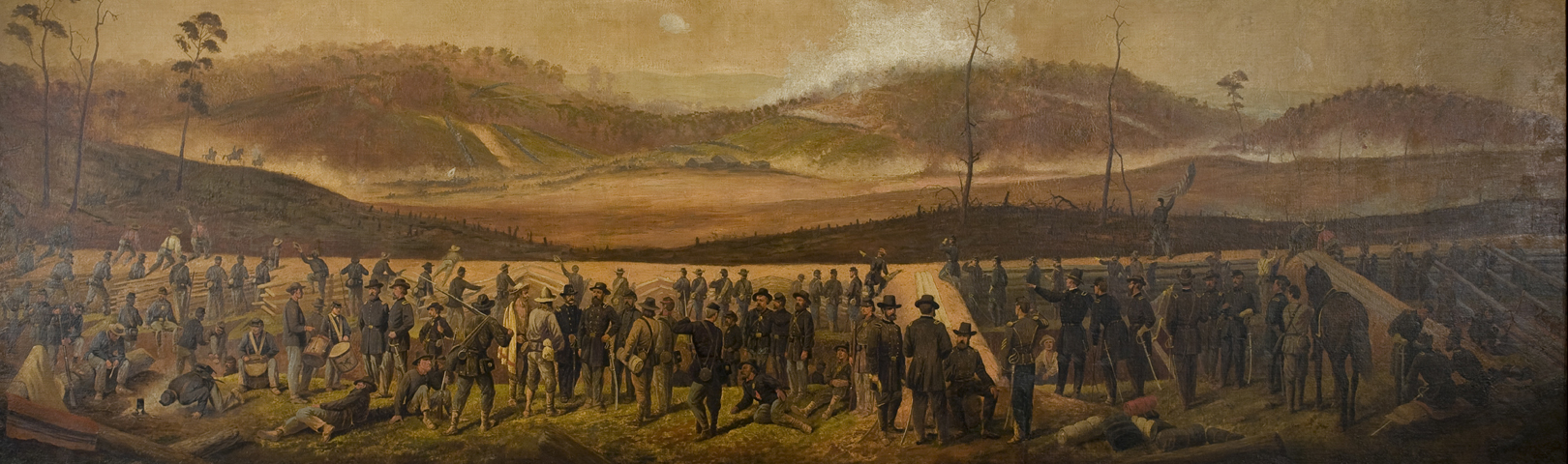 CIVIL WAR PAINTINGS | Now on Display
